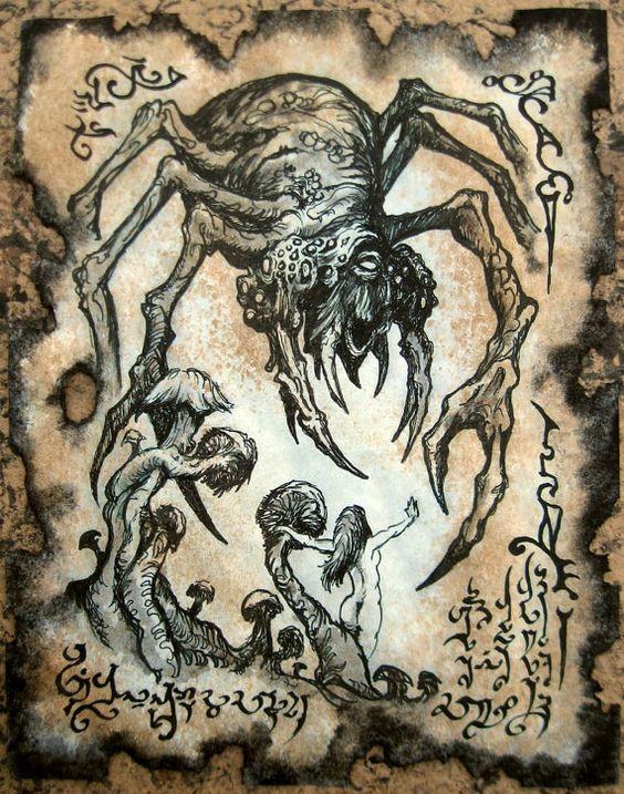 El Necronomicón,un libro salido de los infiernos C9234b6238b10bc2325757c317eb8043