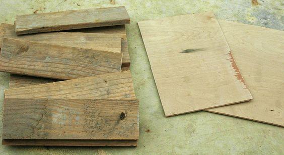 Comment fabriquer un cadre à partir de planches de bois recyclées!