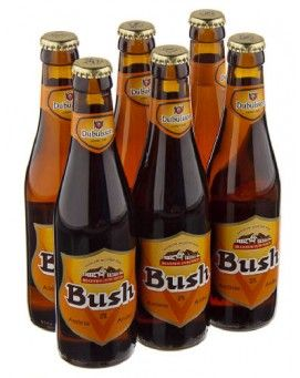 Bia Bush Amber Tripel 12% - Chai 330ml - Bia Nhập Khẩu
