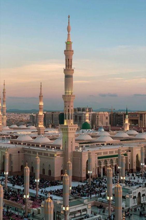 Beautiful Madina Medina Mosque Masjid Mosque