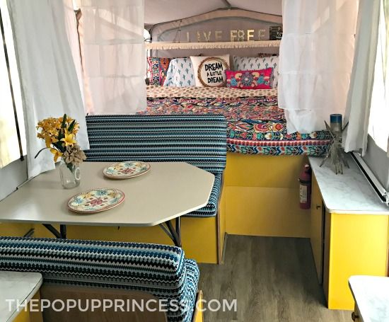 Painted Camper Cabinets You Ll Fall In Love With Remodeled