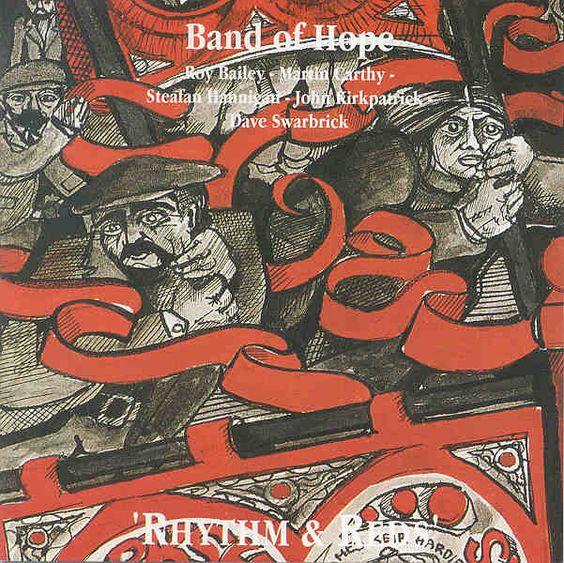 Band of Hope - Rhythm & Reds - Roy Bailey, Martin Carthy, Dave Swarbrick, John Kirkpatrick and Stephan Hannigan.