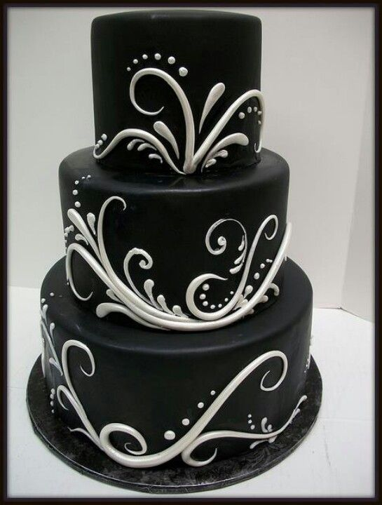 Black cake.  What a great Groomsman cake.