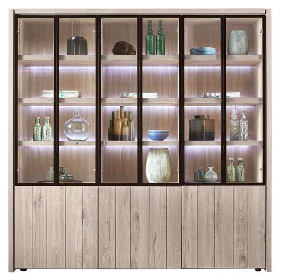 vitrinekast lucani sfeervol en onderhoudsvriendelijk woonprogramma lucani is prachtig. Black Bedroom Furniture Sets. Home Design Ideas