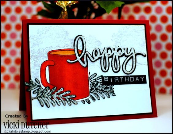 All I Do Is Stamp-- Designs by Vicki Dutcher: Coffee Loving Papercrafters Hop