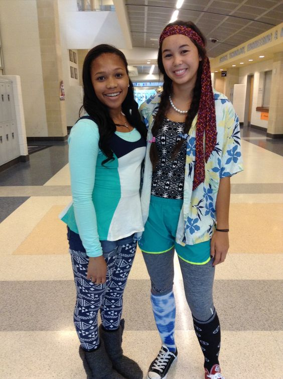 Mismatch Day for spirit week | Costume ideas | Pinterest | The head The ou0026#39;jays and Spirit weeks