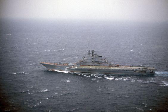 Minsk - Kiev class Aircraft Carrier (Russia)