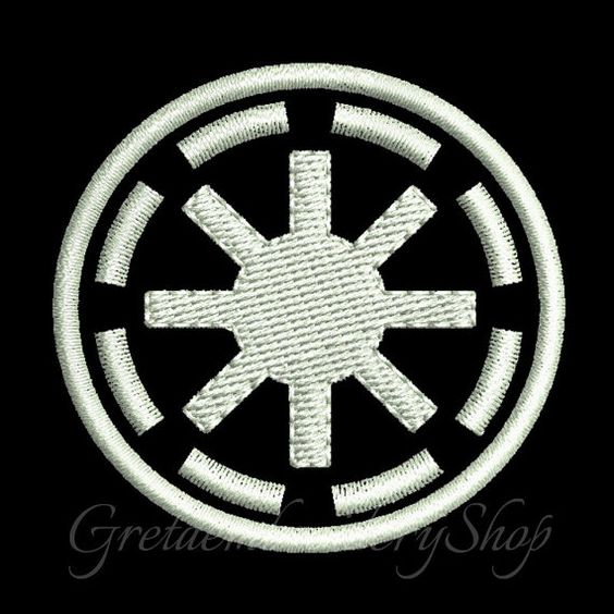 Galactic Republic embroidery design,instant download,Machine Embroidery Designs,Star Wars embroidery,Star Wars logo