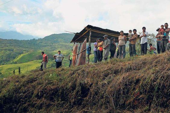 Conflicto de tierras en Salitre- Squatting
