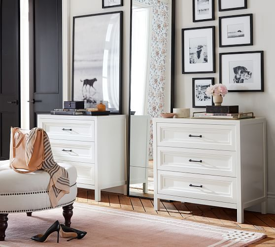 Sussex Dresser Furniture Three Drawer Dresser Bedroom Decor