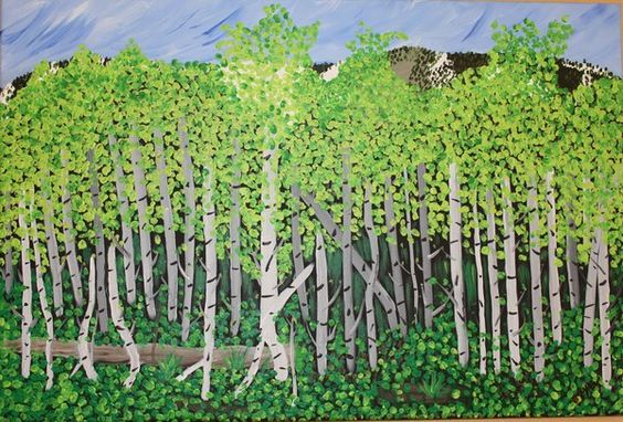 Aspen Trees II - Brenda Zyburt | Journey Of The Soul, Healing with Our Celestial Angelic Guides