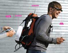 How to Make a Portable, Playable XBox 360 Backpack  - PopularMechanics.com