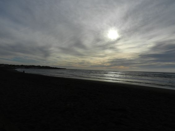 Esta es la Playa de Pichilemu.