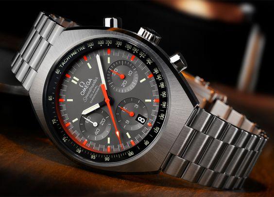 Les nouveautés horlogères des montres Omega - Speedmaster Mark II - 2014