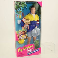 Mattel - Barbie Doll - 1996 Big Brother Ken & Baby Brother Tommy *NM BOX*