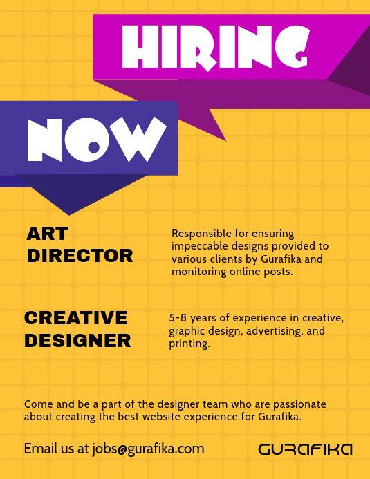 Graphic Design Internship Flyer Template In 2020 Hiring Poster Flyer Instagram Story Template