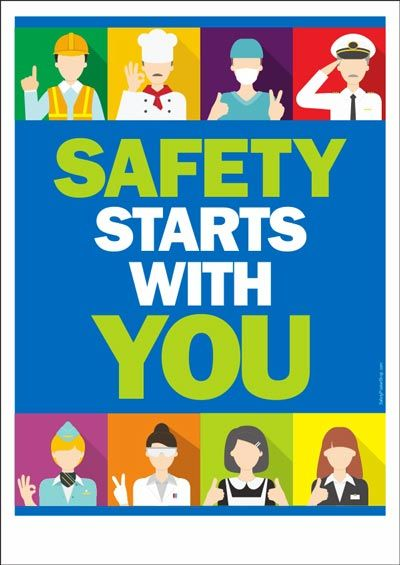 Safety Starts With You Safety Poster Shop