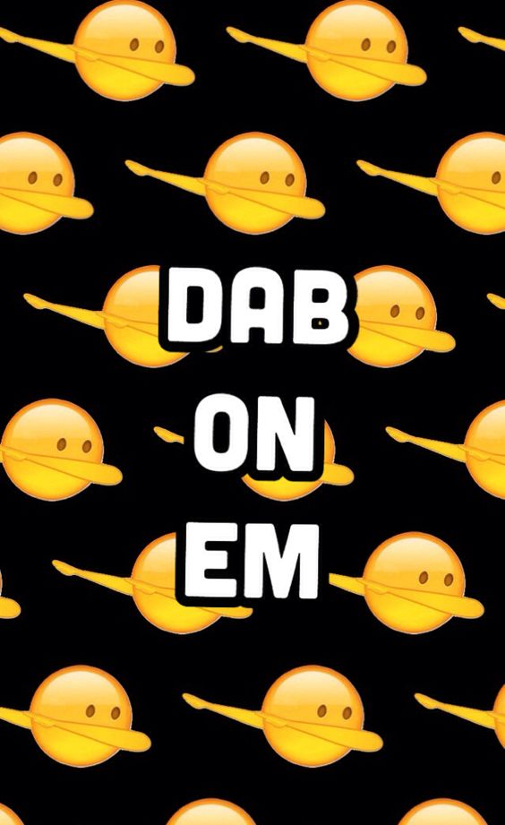 """Dab on em"" emoji"