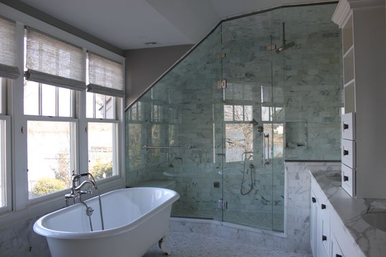 Custom steam shower stone creek builders fair haven master bath pinterest showers and - All you need to know about steam showers ...