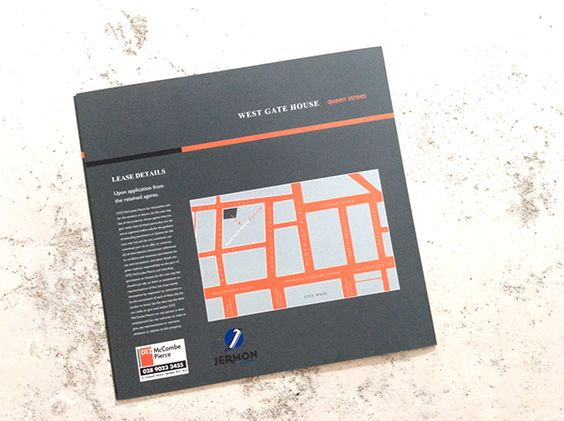 West Gate House Brochure on Behance