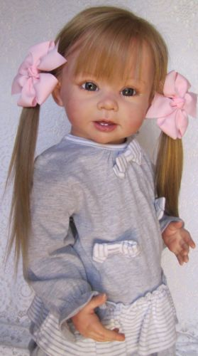 Nancy's Lil Darlings CUSTOM Reborn Bonnie by Linda Murray Toddler Kit 28"