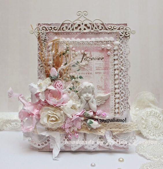 Polina Kargina's blog: Розовый shabby chic: