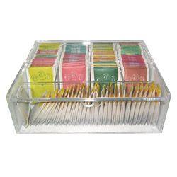 Boîte à compartiments Thé ou Café, dosettes... - 44,50 € (+ 6,90€ frais de livraison Colissimo en France métro) - mailto:contact@sktv.fr