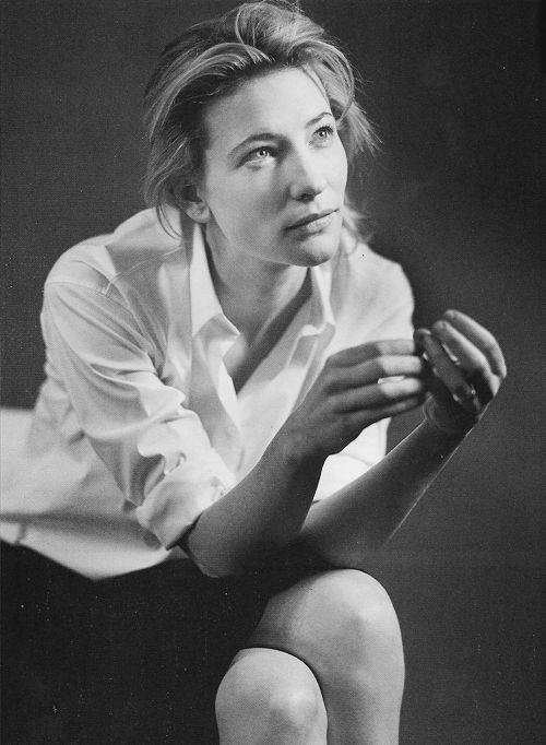 'It was only when I realized how actors have the power to move people that I decided to pursue acting as a career.' - Cate Blanchett