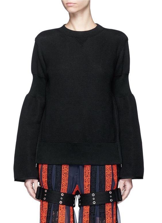 Sacai sweater, size 1, USD 415.00