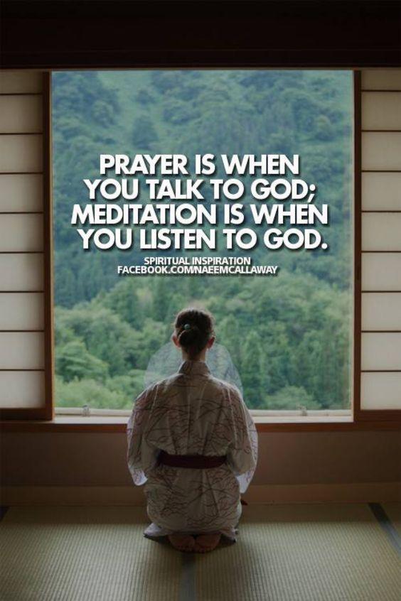 Beautiful, Meditation and God on Pinterest