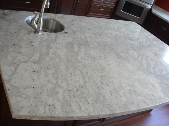 Granite white granite and marbles on pinterest for Granite remnants los angeles ca