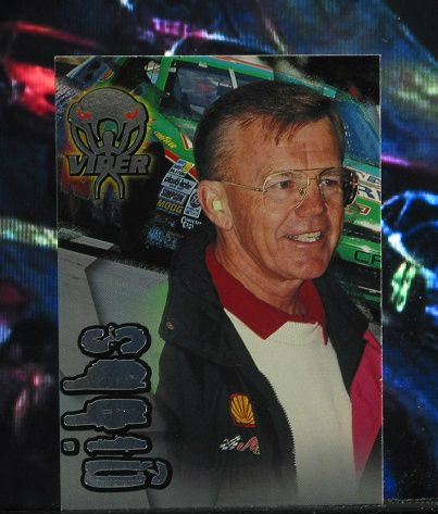 http://nascarniche.blogspot.com/  Joe Gibbs Team Owner 1996 Wheels Viper Trading Card #34 Base Set Nascar