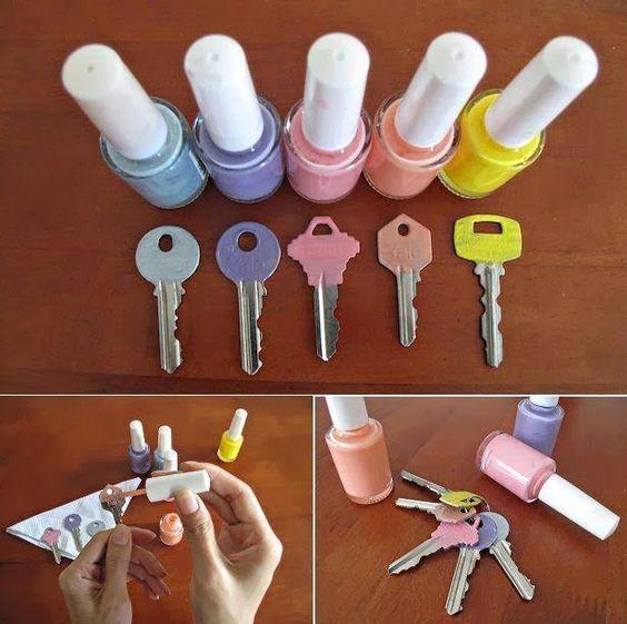 Dicas de organização com objetos baratos   Creative