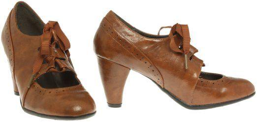 Amazon.com: NOMAD Mayfair Lace-Up Mary Jane Oxford Heels [MAYFAIR]: Clothing