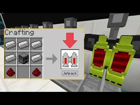 Mcpe Working Jetpack In 1 2 Command Block Trick Tutorial