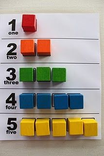 Tot Trays - Colors and Numbers