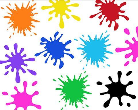 Paint Splash Clipart | Splash images, Paint splash, Art bundle