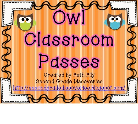 ... Grade Discoveries with Miss Bily: Owl Themed Classroom and a Give Away