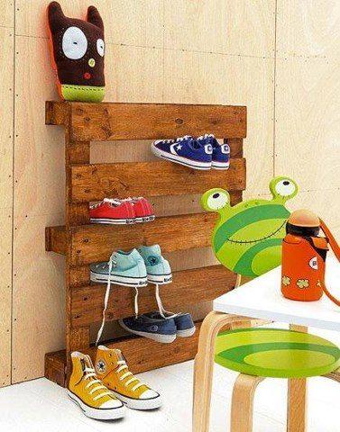 pallet sapatos