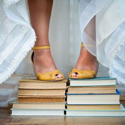 mariée livres bride