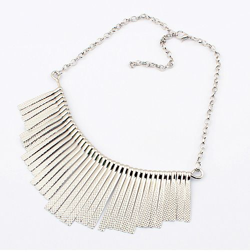 Love this collar necklace by LilyFair Jewelry. This accessory would rock with 'Leon Leather Jacket'