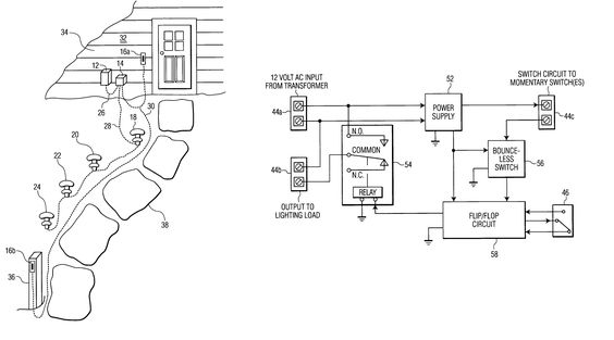 Awesome Wiring Diagram For Outdoor Lights Diagrams Digramssample