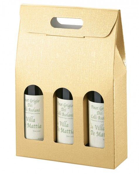 Flaschenkarton für 3 Flaschen - SC.3 BOTT. Champagne 3,23 Euro