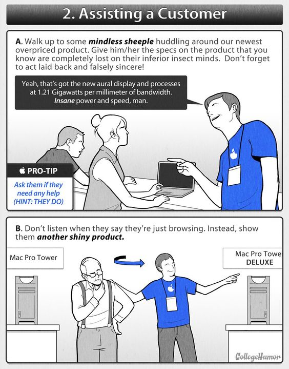 Honest Apple Employee Manual  Apples And Funny Posts