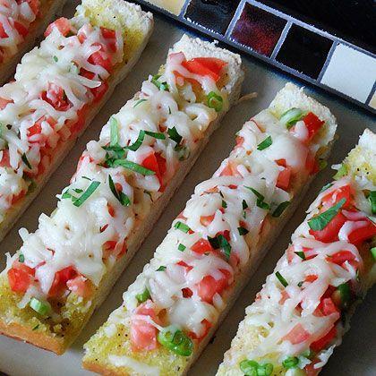 Mozzarella Provolone Bruschetta Appetizers Pinterest New Year 39 S Mozzarella And Bruschetta