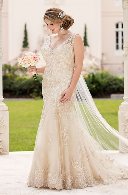 PLUS SIZE WEDDING DRESSES Every bride, regardless of her body shape or size, should experience the joy of finding the designer wedding dress of her dreams. #PlusSizeWeddingThings #Plussizeweddingdresses