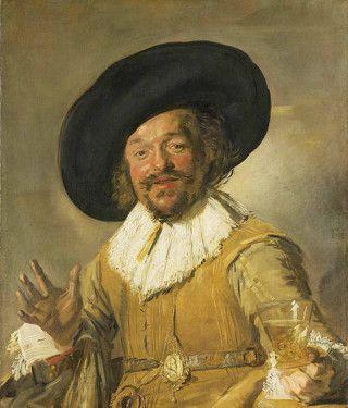 De vrolijke drinker (1628-30) - Frans Hals