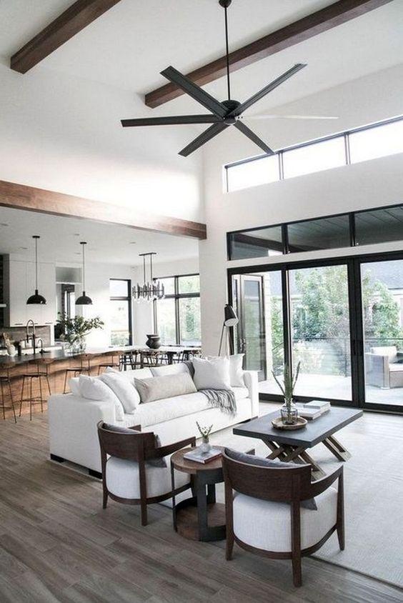 35+ Stunning Open Living Room Design Ideas #livingroom #livingroomdesigns #livingroomdesignideas