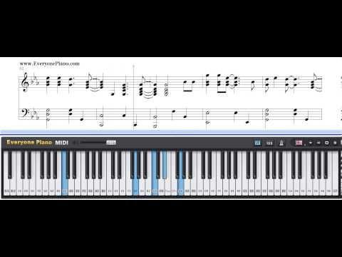 Free Fix You - Coldplay Piano Sheet Music Tutorial - http://blog.pianoforbeginners.net/uncategorized/free-fix-you-coldplay-piano-sheet-music-tutorial