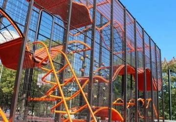 Playing at the park when you were younger was probably one of the more fun things you could do on a warm summer day, right? There was nothing quite like having fun at the playground with your friends. These 12 playgrounds are some of the most intense and coolest parks ever designed.